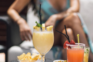 Cocktail and summer in Marbella